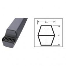Двухсторонний клиновый ремень (шестигранный) АА/НАА