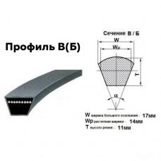 Ремни приводные профиль B-1000