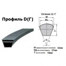 Ремни приводные профиль D-10000